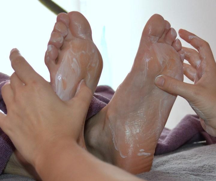 Fuß Pediküre Fußreflexzonenmassage