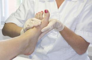 Pediküre, Fußmassage,